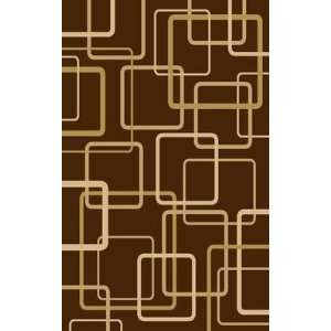 Central Oriental   Interlude   Circuitry Area Rug   5 x 7