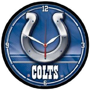 NFL Indianapolis Colts Team Logo Wall Clock *SALE* Sports