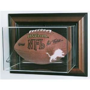 Detroit Lions NFL Case Up Football Display Case