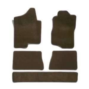 Set Carpet Floor Mats for Ford X (Premium Nylon, Taupe) Automotive