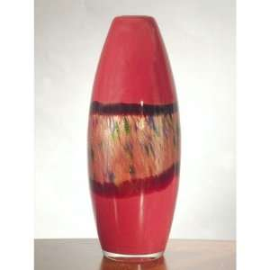 Dale Tiffany Rose Wine Transitional Majestic Vase