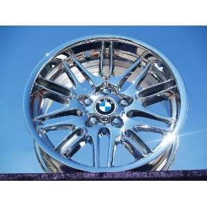 BMW M5Style 65 (M65) Set of 4 genuine factory 18inch chrome wheels