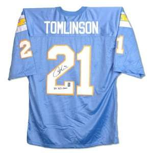 LaDainian Tomlinson San Diego Chargers Autographed Custom Jersey with
