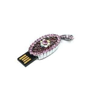 8GB Moon Jewellery Cartoon USB Flash Drive Pink