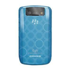 Smart Phone Skin. FLEXIBLE CASE FOR BLACKBERRY CURVE CLEAR BLUE PH