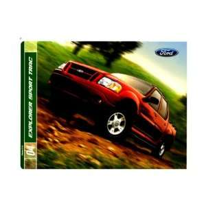 2004 FORD EXPLORER SPORT TRAC Sales Brochure Book Piece Automotive