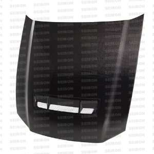 2010 2011 FORD MUSTANG   GT Style CARBON FIBER HOOD *AeroDesigns