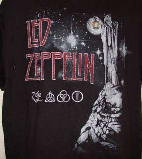 Led Zeppelin Jimmy Page Robert Plant Concert Shirt NWOT