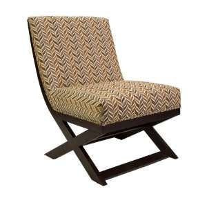 Manning X Leg Armless Chair Furniture & Decor