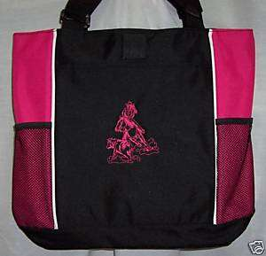 Cutting HORSE PINK Tote Bag Reining Cutter NEW