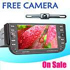 DIN CAR STEREO DVD PLAYER CAR AUDIO SYSTEM USB SD FM+REAR CAMERA