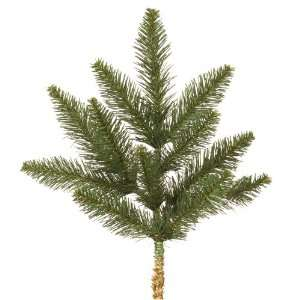 PVC Christmas Spray   Green   Camdon Fir   12 Tips   Vickerman A861002