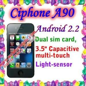 dual sim cards dual standby gps wifi capacitive multi touch screen