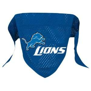 Detroit Lions Pet Dog Football Jersey Bandana S/M Pet