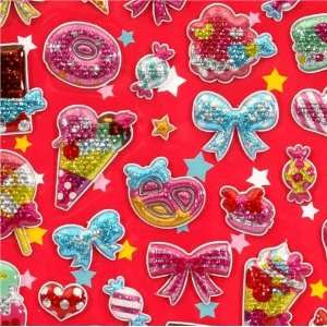 cute sweets glitter sticker Japan kawaii Toys & Games