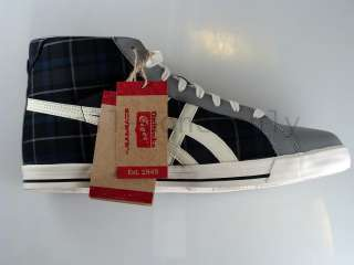 Asics Onitsuka Tiger Fabre tartan check canvas shoe NIB