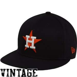 New Era Houston Astros Navy Blue Back In The Day Snapback Flat Bill