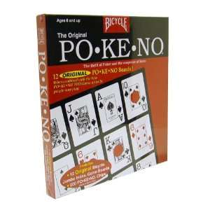 Original Po Ke No Red Card Game by Bicycle Toys & Games