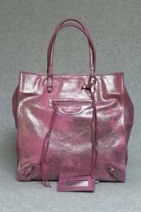 Balenciaga Milkyway Papier Metallic Pink Tote Bag New 829099528970