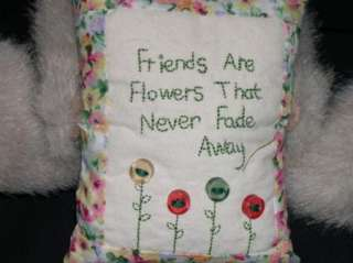 BOYDS BEARS Friends Are Flowers That Never Fade RARE