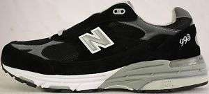 NEW BALANCE MENS BLACK SHOES