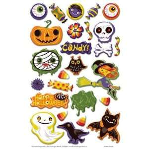 Ghoulies Epoxy Stickers Arts, Crafts & Sewing