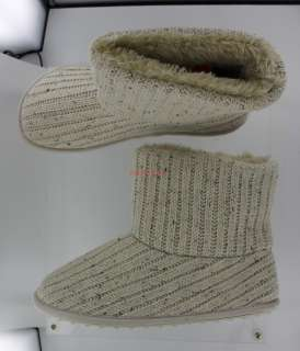 New K9 by Rocket Dog Snowbank Indoor/Outdoor Bootie Slipper   Natural