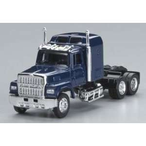 Model Power   1/87 Ford 9000 Semi Truck Cab Blue HO