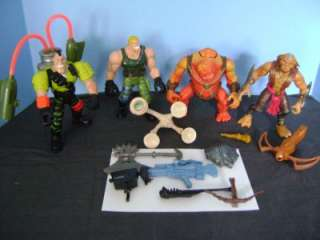 Lot of 1998 Hasbro SMALL SOLDIERS MOVIE  ARCHER Flatchoo Action