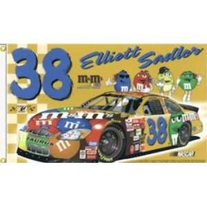 Elliott Sadler 3x5 Double Sided Flag