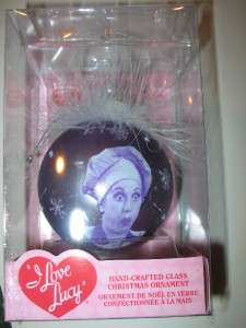 LOVE LUCY ORNAMENT BY KURT S ADLER & SMALL TIN NEW