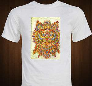 Louis Wain Cat Art Mandala T Shirt