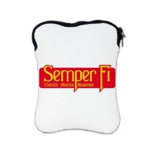 com iPad 1 2 & New iPad 3 Sleeve Case 2 Sided Semper Fi Marine Corps