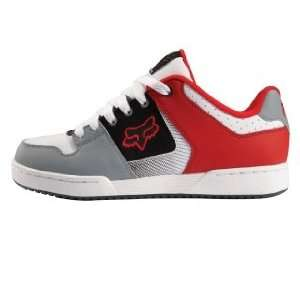 Fox Racing Quadrant Shoe White/Red 7 Automotive