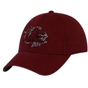 The Game South Carolina Gamecocks Garnet 3D Logo Adjustable Hat