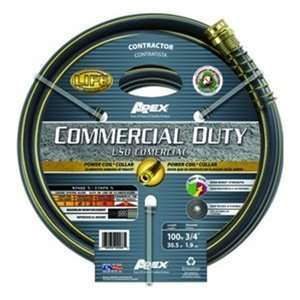 100ft Commercial Duty Hose 400psi, Power Coil[REG] Collar For Strength