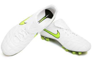 Nike Tiempo Legend Elite FG Firm Ground Mens Soccer Cleat White Shoes