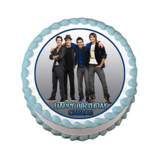 BIG TIME RUSH #2 Edible Party Cake Image Topper Custom