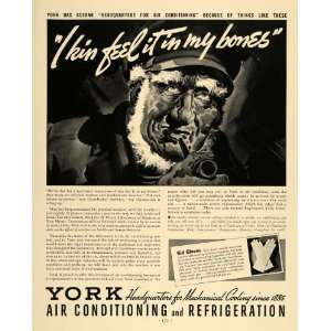 1936 Ad York Air Conditioning Refrigeration Mechanical