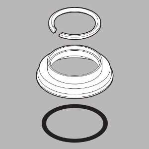 Faucet RP26146PT Innovations Handle Base Snap Ring Gasket, Aged Pewter