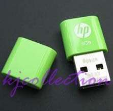 HP 8GB 8G USB Flash Pen Drive Mini Nano v240g Green