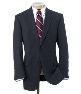 Jos A Bank Mens Factory Store Classic 2 Button Check Suit