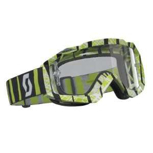 Scott Sports Hustle Apek Goggles with Clear Lens