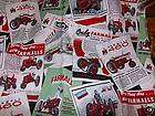 Farmall International Harvester Tractor Blanket Quilt
