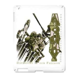 iPad 2 Case White of Army US Military Defenders Of Our