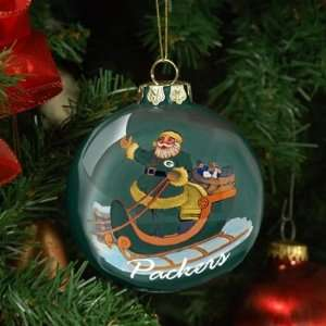 Green Bay Packers Santa Ornament NFL Football Fan Shop Sports Team