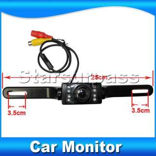 TFT LCD Car Reverse Rearview Color Mirror Monitor+Car Backup Camera