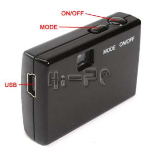 Mega 1280 x 960 Mini HD Hidden Pinhole Spy Camera DV DVR Video