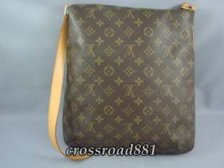 Vuitton Monogram Large Musette Messenger Bag Great Condition
