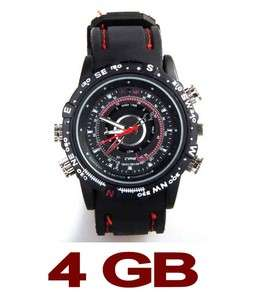 4GB High Pixels HD Waterproof Mini DVR Camera Watch